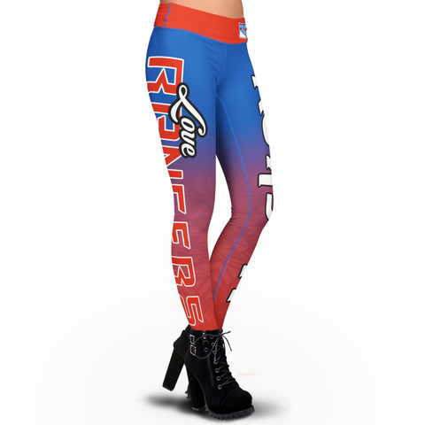 Love New York Rangers Leggings