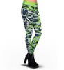 Seattle Seahawks Camo Print Leggings