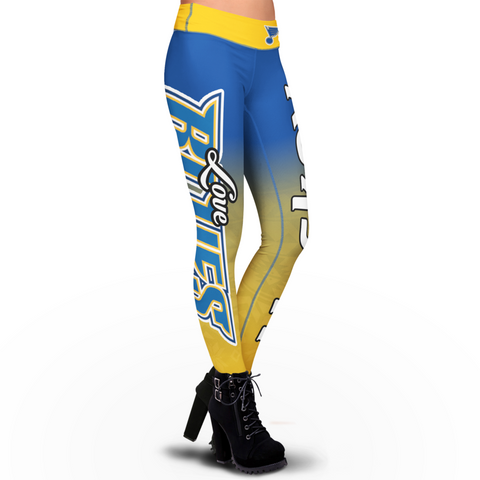 Love St. Louis Blues Leggings