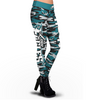 Philadelphia Eagles Camo Print Leggings