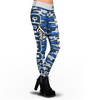 Dallas Cowboys Camo Print Leggings