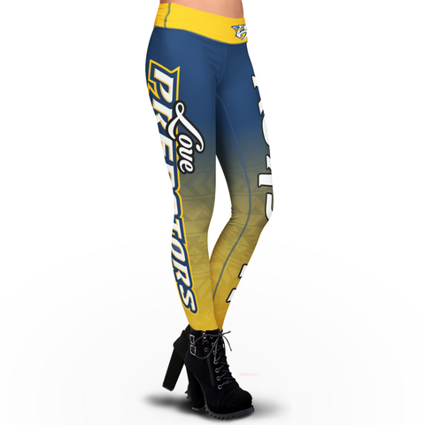 Love Nashville Predators Leggings