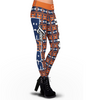 Chicago Bears Aztec Print Leggings