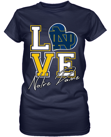 Love - Notre Dame Fighting Irish