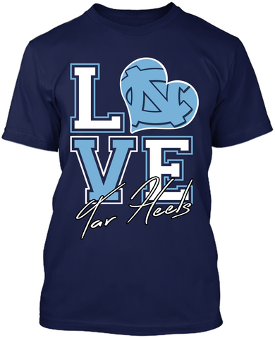 Love - North Carolina Tar Heels