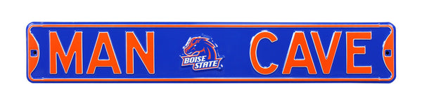 Boise State Broncos Man Cave Sign