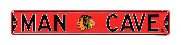 Chicago Blackhawks Man Cave Sign
