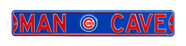 Chicago Cubs Man Cave Sign