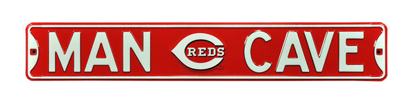 Cincinnati Reds Man Cave Sign