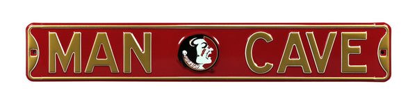 Florida State Seminoles Man Cave Sign
