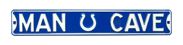 Indianapolis Colts Man Cave Sign