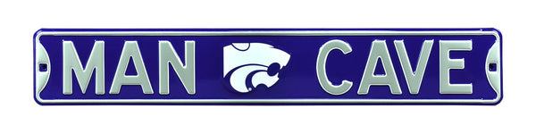 Kansas State Wildcats Man Cave Sign