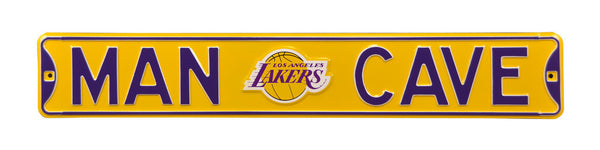 Los Angeles Lakers  Man Cave Sign