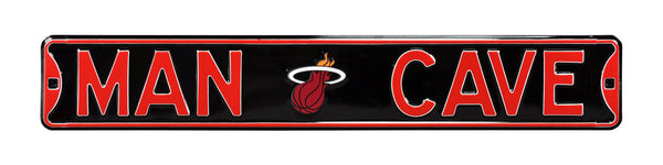 Miami Heat Man Cave Sign