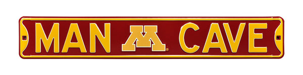 Minnesota Golden Gophers Man Cave Sign
