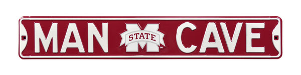 Mississippi State Man Cave Sign