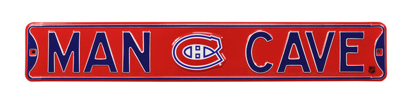 Montreal Canadiens Man Cave Sign