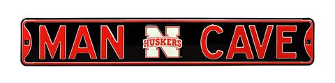 Nebraska Cornhuskers Man Cave Sign