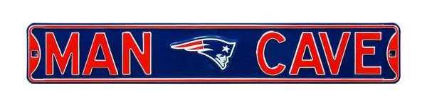 New England Patriots Man Cave Sign