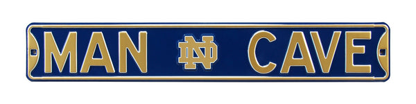 Notre Dame Fighting Irish Man Cave Sign