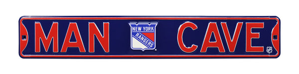 New York Rangers Man Cave Sign