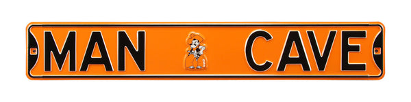 Oklahoma State Cowboys Man Cave Sign