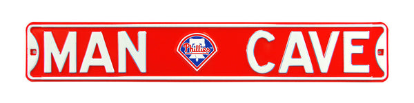 Philadelphia Phillies Man Cave Sign