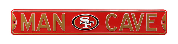 San Francisco 49ers Man Cave Sign