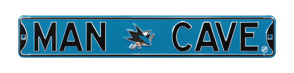 San Jose Sharks Man Cave Sign