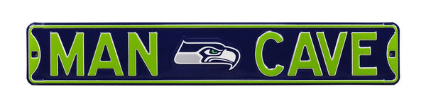Seattle Seahawks Man Cave Sign