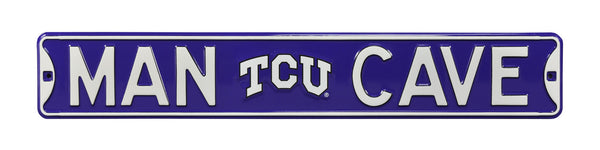 TCU Horned Frogs Man Cave Sign