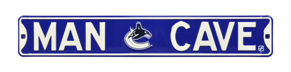 Vancouver Canucks Man Cave Sign