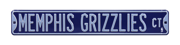 Memphis Grizzlies CT Sign