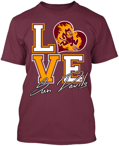 Love - Arizona State Sun Devils