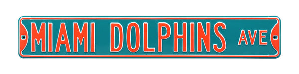 Miami Dolphins Ave Sign