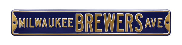 Milwaukee Brewers Ave Sign