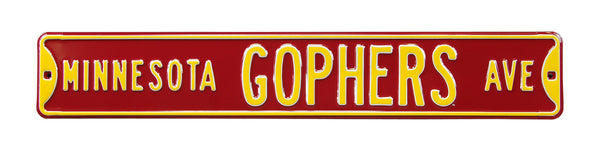 Minnesota Golden Gophers Ave Sign