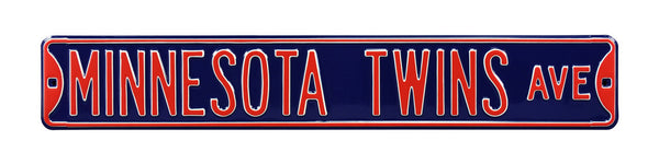 Minnesota Twins Ave Sign