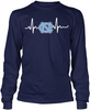 North Carolina Tar Heels Heartbeat