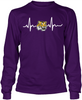 Louisiana State U Tigers Heartbeat