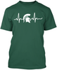 Michigan State Spartans Heartbeat