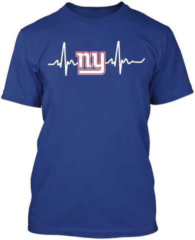 New York Giants Heartbeat