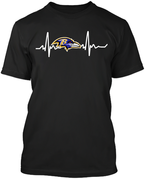 Baltimore Ravens Heartbeat