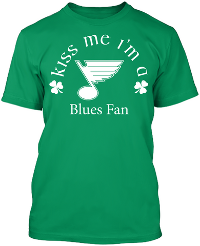 Kiss Me I'm A Blues Fan