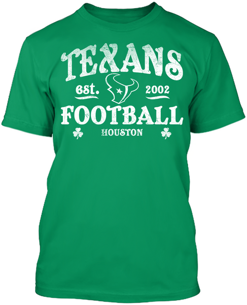 Houston Texans - St. Patrick's Day Blarney