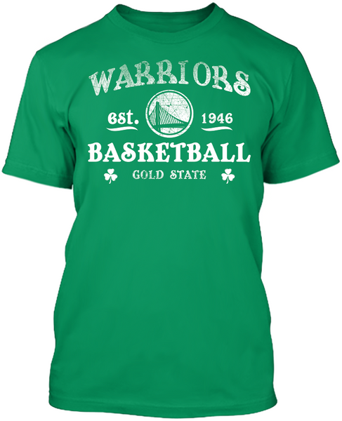 GOLDEN STATE WARRIORS - St. Patrick's Day Blarney