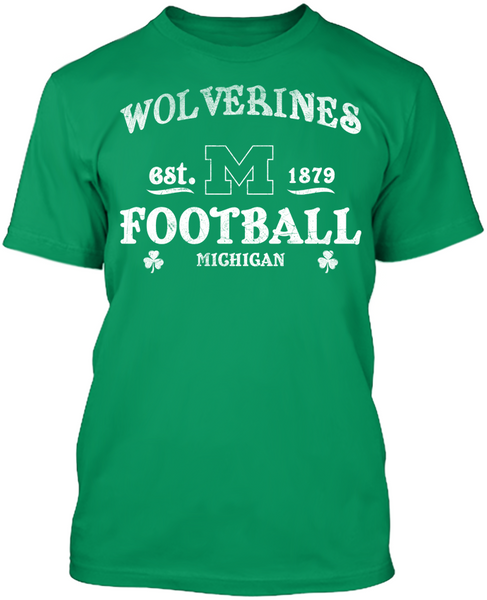 Michigan Wolverines - St. Patrick's Day Blarney