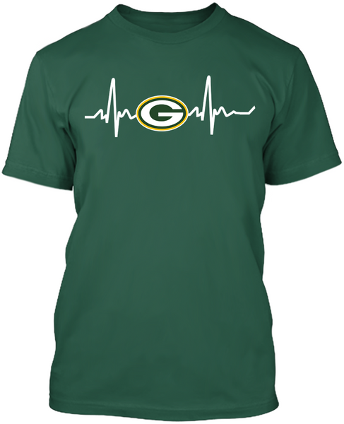 Green Bay Packers Heartbeat