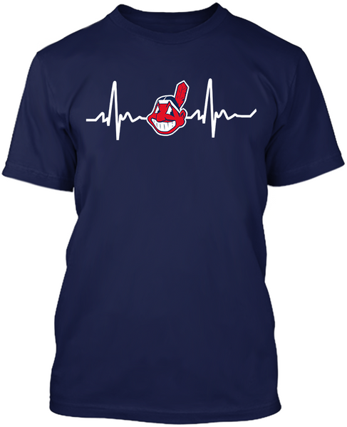 Cleveland Indians Heartbeat