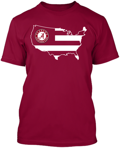 Alabama Crimson Tide - Broad Stripes